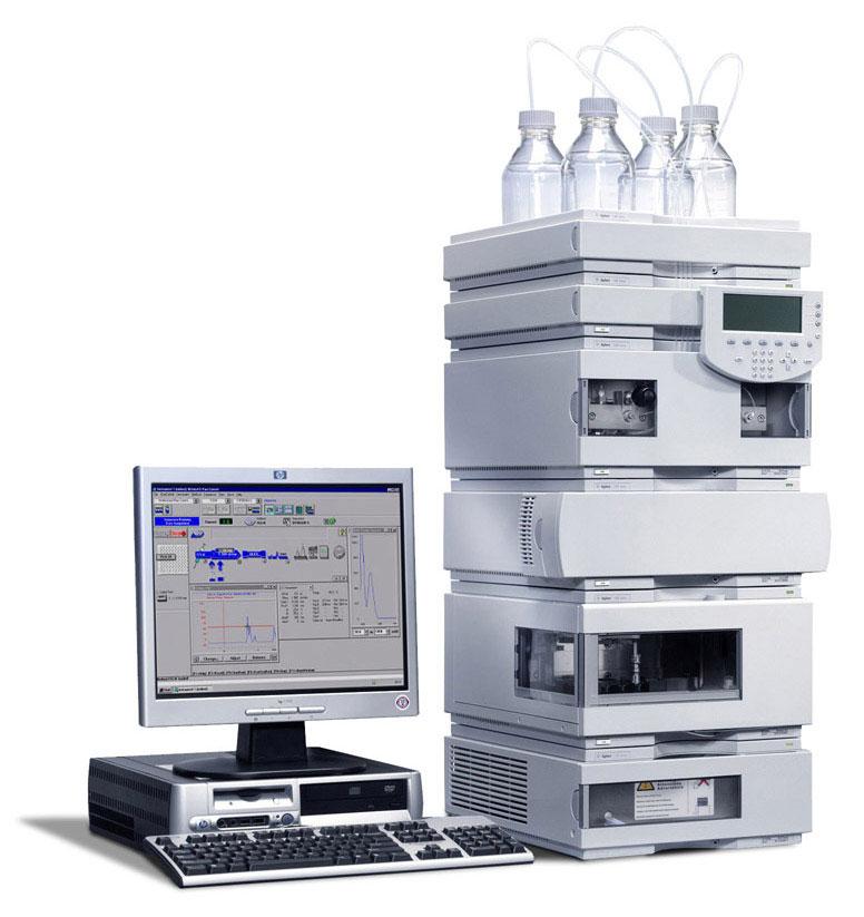 Agilent GC prístroj na HPLC