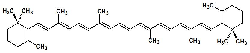 β-karotén