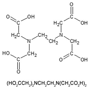 Kyselina etyléndiamíntetraoctová (EDTA)