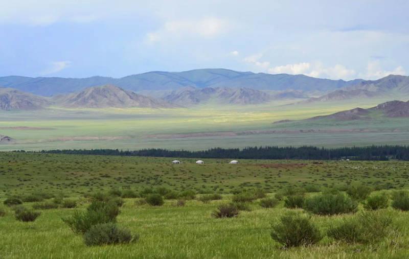 Eurázijská step (Mongolsko)
